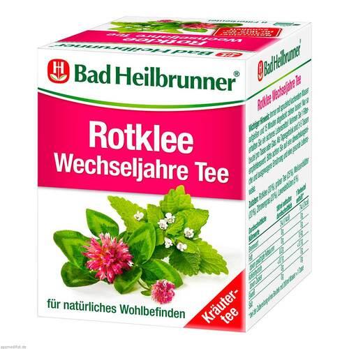Bad Heilbrunner Tee Rotklee Wechseljahre Filterbtl - 1