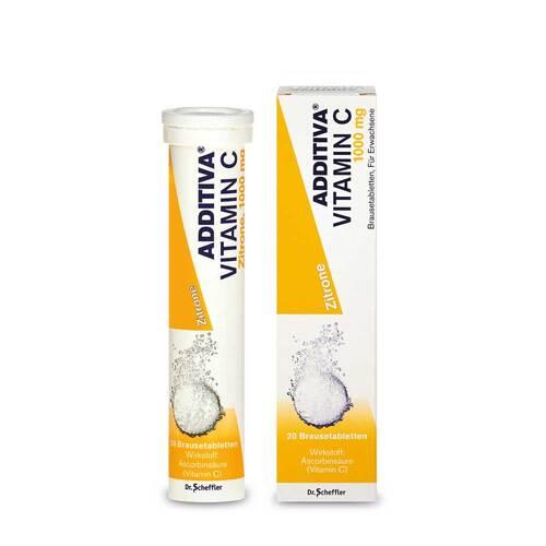 Additiva Vitamin C 1 g Brausetabletten - 1