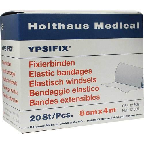 Fixierbinde Ypsifix elastisch 8 cm x 4 m lose - 1
