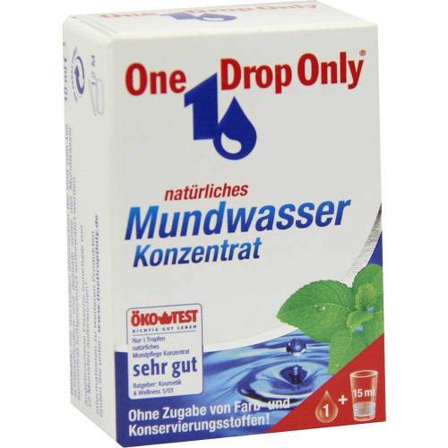 One Drop Only natürl.Mundwasser Konzentrat - 1