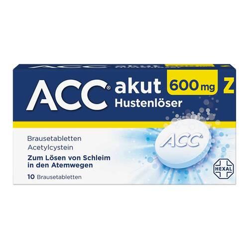 ACC akut 600 Z Hustenlöser Brausetabletten - 1