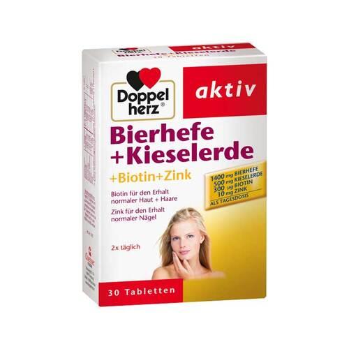 Doppelherz Bierhefe+Kieselerde Tabletten - 1