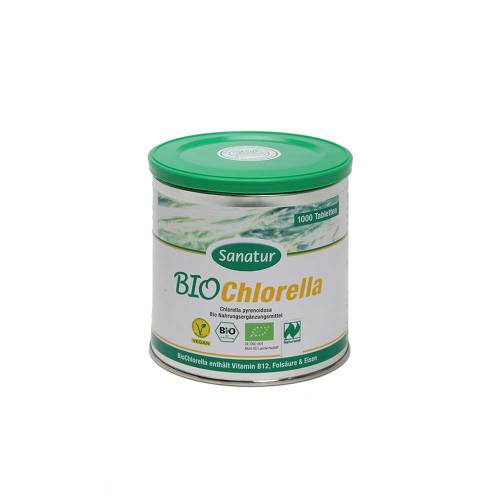 Chlorella Bio Tabletten - 1