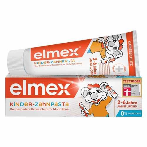 Elmex Kinderzahnpasta mit Falt - 1