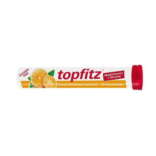 Topfitz Multivitamin + Mineral Brausetabletten - 1