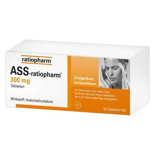 ASS Ratiopharm 300 mg Tabletten - 1