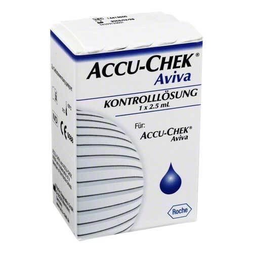 Accu Chek Aviva Kontroll Lösung - 1