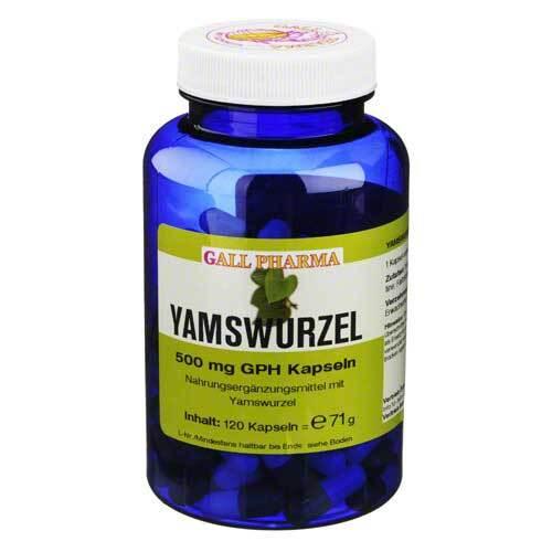 Yamswurzel 500 mg GPH Kapseln - 1