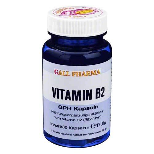 Vitamin B2 GPH Kapseln - 1