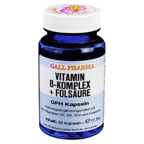Vitamin B Komplex + Folsäure GPH Kapseln - 1