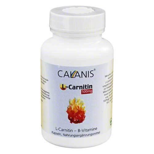 L-Carnitin 500 mg Kapseln - 1