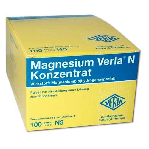 Magnesium Verla N Konzentrat - 1