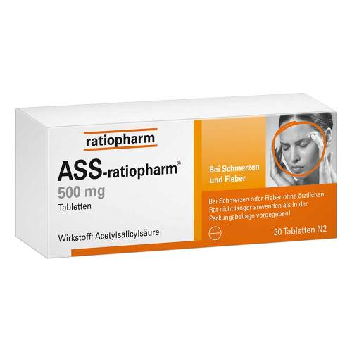 ASS Ratiopharm 500 mg Tabletten - 1
