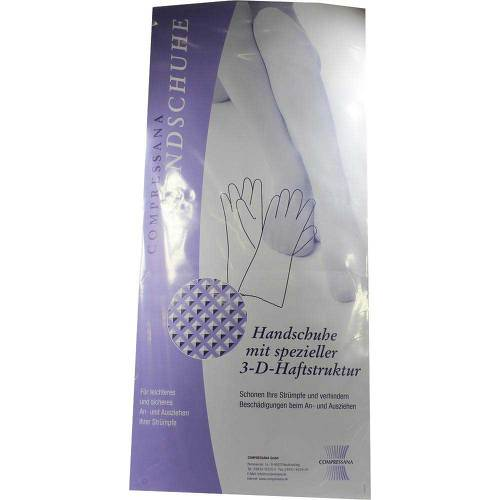 Compressana Gummihandschuhe Größe 2 farbig - 1