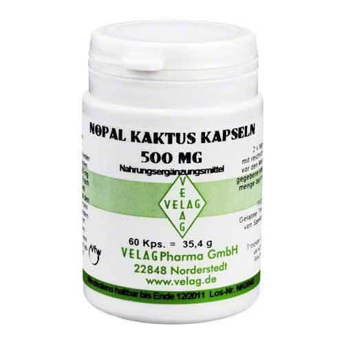 Nopal Kaktus 500 mg Kapseln - 1