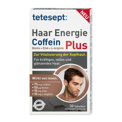 Tetesept Haar Energie Coffein Plus Filmtabletten - 1