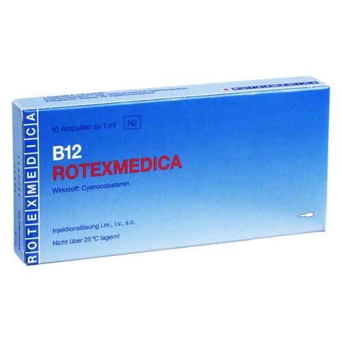 Vitamin B12 Rotexmedica Injektionslösung - 1
