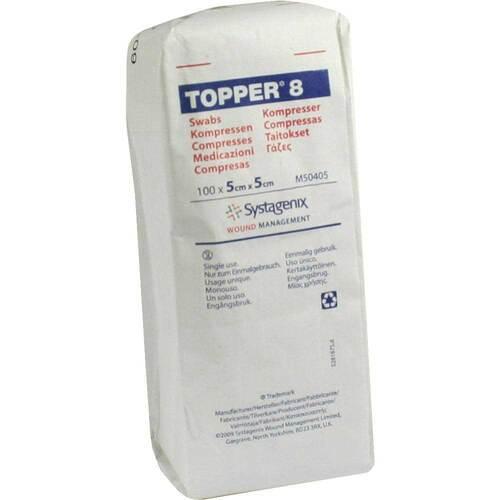 Topper 8 Kompresse unsteril 5x5 cm - 1