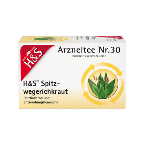 H&S Spitzwegerichkraut Filterbeutel - 1
