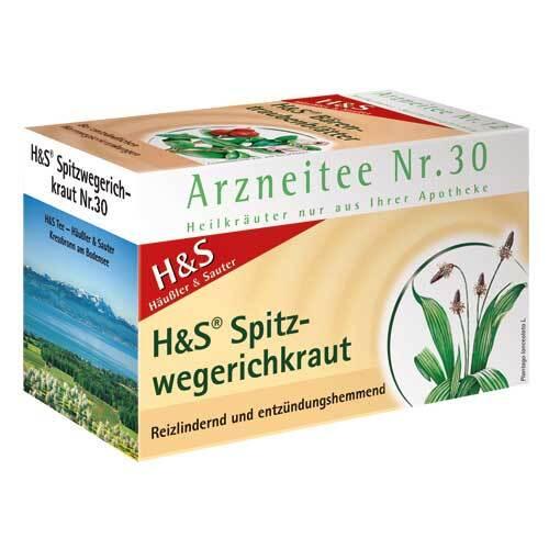 H&S Spitzwegerichkraut Filterbeutel - 2