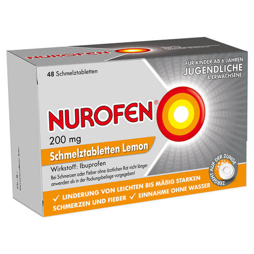 Nurofen 200 mg Schmelztabletten Lemon - 1