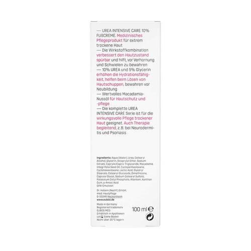 Eubos Trockene Haut Urea 10% Fußcreme - 3