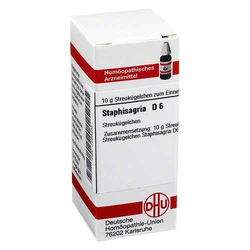 Staphisagria D 6 Globuli - 1