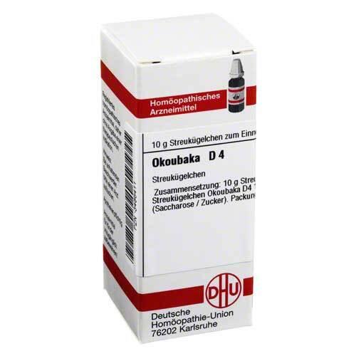 DHU Okoubaka D 4 Globuli - 1