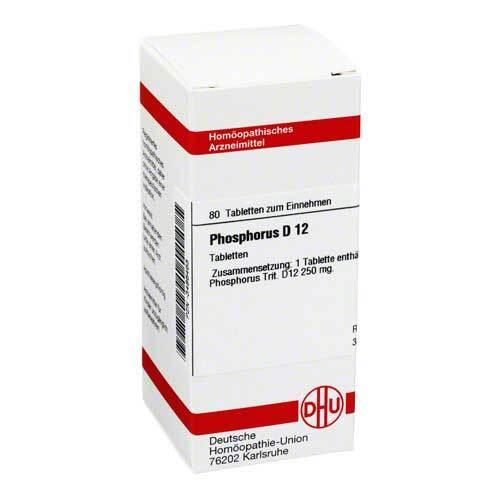 Phosphorus D 12 Tabletten - 1