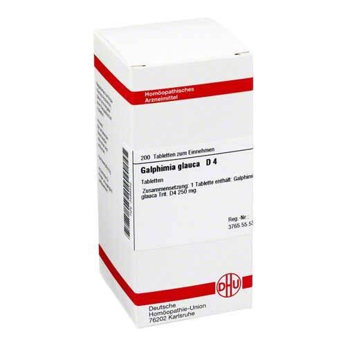 Galphimia glauca D 4 Tabletten - 1