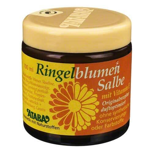 Ringelblumen Salbe mit Vitami - 1