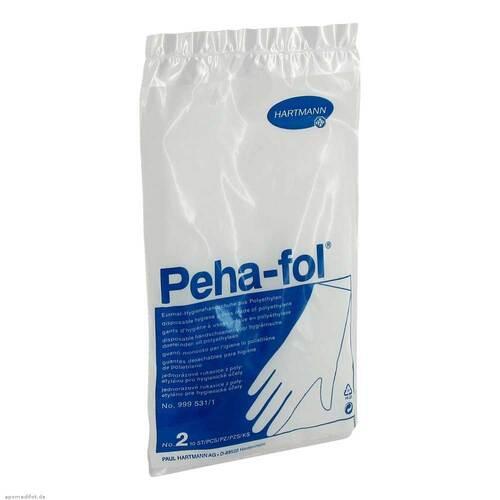 Peha Fol Einmalhandschuhe He - 1