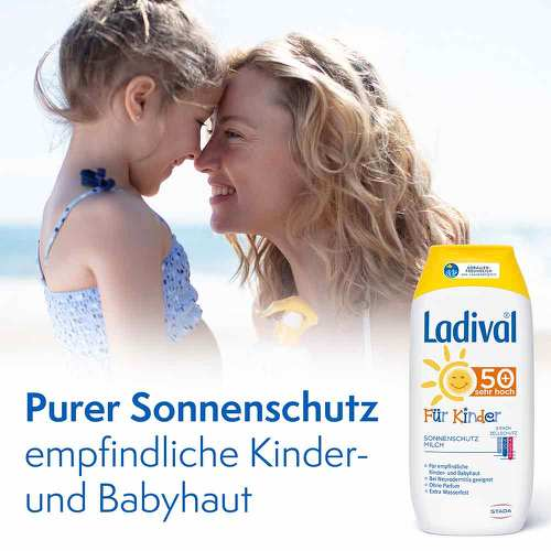 Ladival Kinder Sonnenmilch LSF 50+  - 2