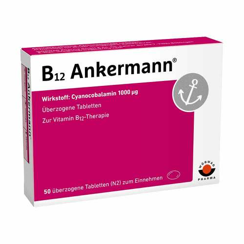 B12 Ankermann überzogene Tabletten - 1