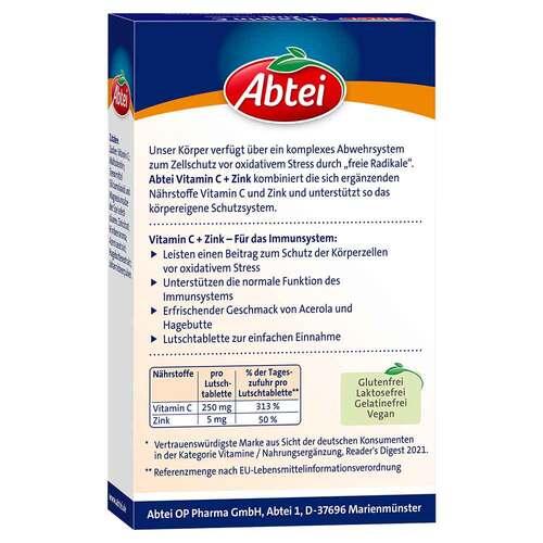Abtei Vitamin C plus Zink Lutschtabletten - 2