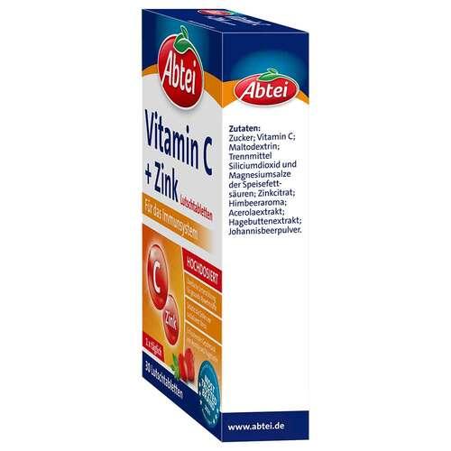 Abtei Vitamin C plus Zink Lutschtabletten - 4