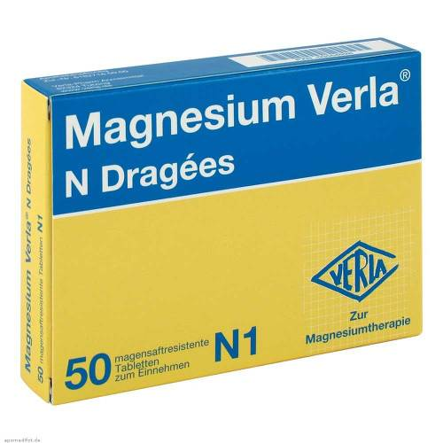 Magnesium Verla N Dragees - 1