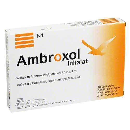 Ambroxol Inhalat Inhalationslösung - 1