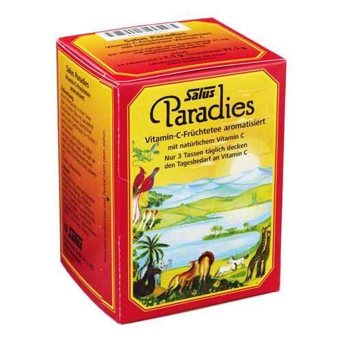Paradies Vitamin C Früchtetee Beutel Salus - 1