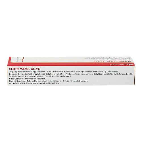 Clotrimazol AL 2% Vaginalcreme - 2