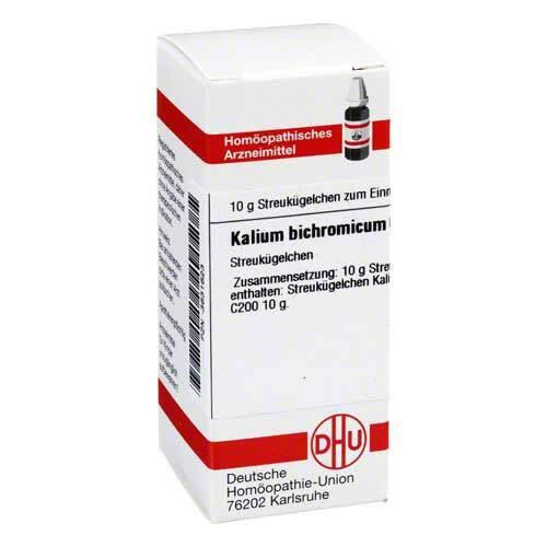 Kalium bichromicum C 200 Globuli - 1