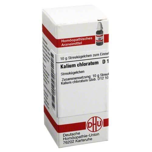Kalium chloratum D 12 Globuli - 1