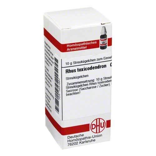 Rhus toxicodendron C 6 Globuli - 1