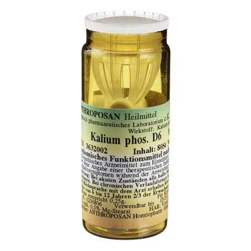 Kalium phosphoricum D 6 Schüßler Nr.5 Tabletten - 1