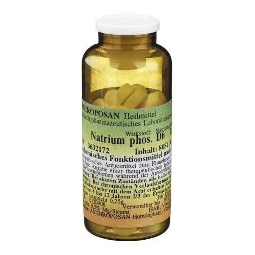 Natrium phosphoricum D 6 Schüssler Nr.9 Tabletten - 1