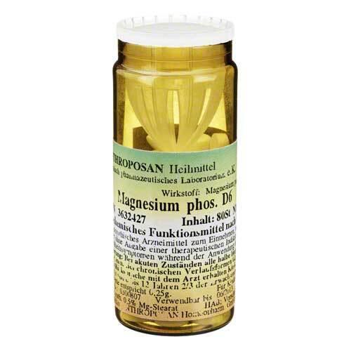 Magnesium phosphoricum D 6 Schüßler Nr.7 Tabletten - 1