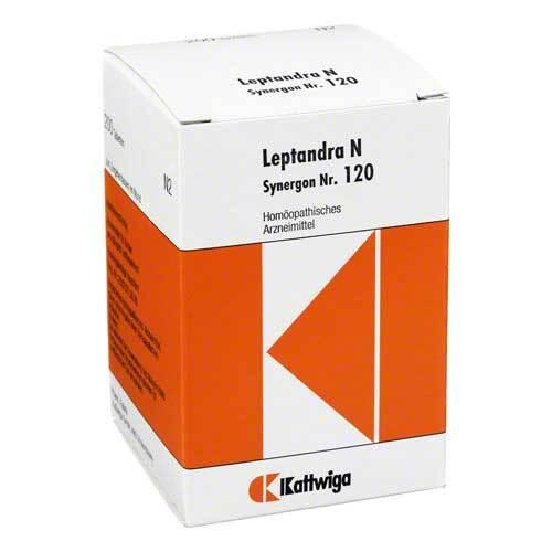 Synergon 120 Leptandra N Tabletten - 1