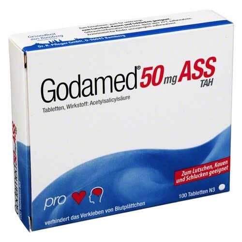 Godamed 50 mg TAH Tabletten - 1