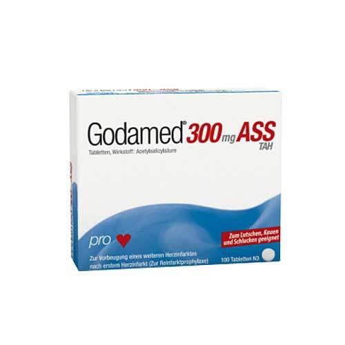 Godamed 300 mg TAH Tabletten - 1