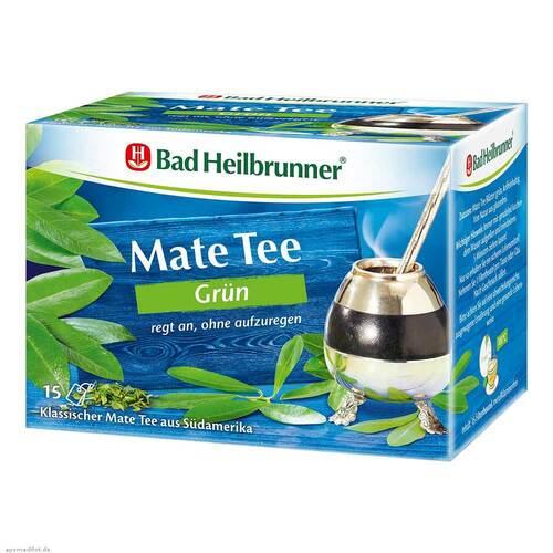 Bad Heilbrunner Tee Mate grün Filterbeutel - 1